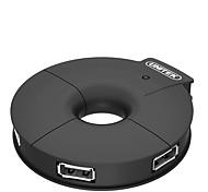 Unitek y-2028a usb2.0 черный высокоскоростной 4-портовый концентратор питания концентратора с 120 см