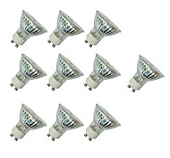 abordables -3W 280-420 lm GU10 Spot LED MR16 60 diodes électroluminescentes SMD 3528 Blanc Chaud Blanc