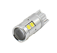 abordables -SO.K 4pcs T10 Coche Bombillas 3W W SMD 5050 200lm lm LED Luz de Intermitente ForUniversal