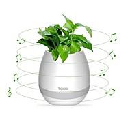 Flowerpot Speaker Wireless Bluetooth 4.0, LED Mood light, Piano Desktop Audio Speaker