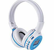 Fanático b570 sem fio bluetooth v4.0 fone de ouvido 3.5mm levou tela de tela estéreo musica fone de ouvido com fm rádio tf slot para