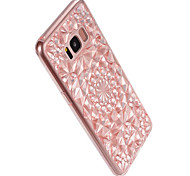 For Samsung  Galaxy S8 Plus S8 Cover Case 3D diamond design  Cover Case Solid Color Soft TPU S7 Edge S7