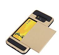 Funda Para Samsung Galaxy S8 Plus S8 Soporte de Coche Cubierta Trasera Color sólido Suave TPU para S8 S8 Plus