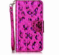 Étui pour sony xperia xz xp housse housse porte support flip pattern voiture téléphone portable papillon papillon brillant dur pu cuir