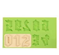 Недорогие -силиконовая форма плесень плесень для шоколада фимо глины цвет случайный