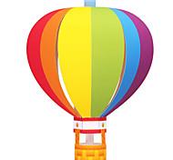 Недорогие -3D пазлы Мячи Бумажная модель Воздушные шары Оригами Наборы для моделирования Круглый Своими руками Надувной Для вечеринок Классика