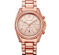 Women's Dress Watch Fashion Watch Quartz Stainless Steel Band Elegant Silver