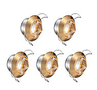 cheap -1W LEDs Dimmable LED Recessed Lights Warm White 220V