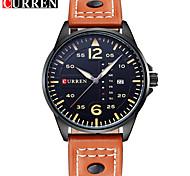 Homens Relógio Esportivo Relógio Militar Relógio Elegante Relógio Esqueleto Relógio inteligente Relógio de Moda Relógio de Pulso Único