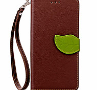 cheap -Case For Huawei P8 Lite P8 Case Cover Card Holder Wallet with Stand Flip Full Body Case Solid Color Hard PU Leather for Huawei P8 Lite 2017