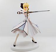 economico -Figure Anime Azione Ispirato da Fate/stay night Saber Lily 18 CM Giocattoli di modello Bambola giocattolo