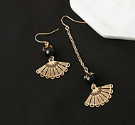 cheap -Women's Tassel / Mismatched / Beads Drop Earrings - Unique Design, Dangling Style, Vintage Gold For Christmas Gifts / Party / Special Occasion