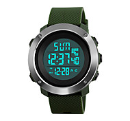 cheap -SKMEI Women's Digital Digital Watch Wrist Watch Military Watch Sport Watch Japanese Alarm Calendar / date / day Chronograph Water