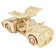 cheap -Toy Car 3D Puzzles Jigsaw Puzzle Wood Model Plane / Aircraft Car Horse 3D DIY Wood Classic Boys' Unisex Gift