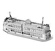 Недорогие -3D пазлы Металлические пазлы Игрушки Военные корабли 3D Предметы интерьера Своими руками Металл Не указано Куски