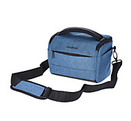 cheap -Andoer Cuboid-shaped DSLR Camera Shoulder Bag Portable Fashion Polyester Camera Case for 1 Camera 2 Lenses and Small Accessories
