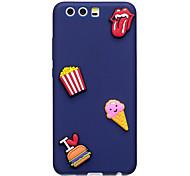 Кейс для huawei p10 p10 plus кейс крышка мороженое рисунок фрукты цвет tpu материал diy телефон случай