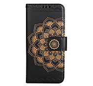 cheap -Case For Samsung Galaxy S8 Plus S8 Card Holder Wallet Flip Pattern Embossed Full Body Cases Mandala Flower Hard PU Leather for S8 Plus S8