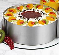 26Шт./набор Формы для пирожных Круглый Новинки Для приготовления пищи Посуда Для торта Нержавеющая сталь СтальМногофункциональный