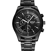 cheap -Men's Dress Watch Fashion Watch Quartz Alloy Band Casual Black