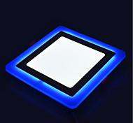 Недорогие -Осветительная панель Естественный белый Синий Светодиодная лампа 1 шт.