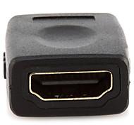 HDMI 2.0 Adaptador, HDMI 2.0 to HDMI 2.0 Adaptador Hembra - Hembra Cobre dorado