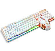 cheap -Ajazz USB Keyboard Mouse Backlight Mouse 6Keys DPI Adjustable With 160CM Cable