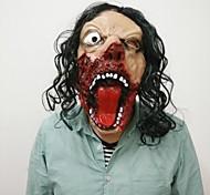 Sparta реалистичная маска ужасов силиконовая полная голова страшный парик циклопы маски Хэллоуин фильм тема вечеринка косплей маскарадный