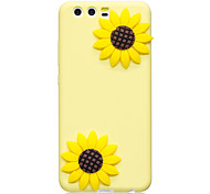 Case For Huawei P10 P10 Plus Case Cover Flower Pattern Fruit Color TPU Material DIY Phone Case