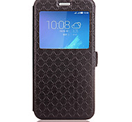 cheap -Case For Huawei Honor 5C 6X Case Cover Card Holder with Stand Flip Embossed Full Body Case Geometric Pattern Hard PU Leather for Huawei Y6 / Honor 4A