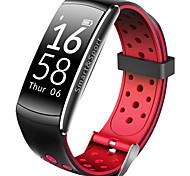 q8 braccialetto intelligente monitoraggio di frequenza cardiaca tracker fitness bluetooth wristband monitor impermeabile sport smartband android ios