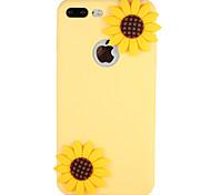Caso para Apple iphone 7 mais 7 capa padrão capa de capa capa flor 3d cartoon silicone macio 6s mais 6 5 5s