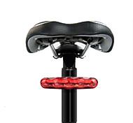 Lampe Arrière de Vélo LED Cyclisme Extérieur AAA Lumens Batterie Rouge Cyclisme
