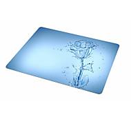 Dob синяя роза коврик для мыши резиновая ткань 21.5 * 18 окрашенная коврик для мыши