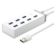 Недорогие -7 портов USB-концентратор USB 3.0 С Адаптером питания Центр данных