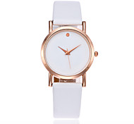 cheap -Women's Kid's Fashion Watch Chinese Quartz PU Band Charm Minimalist Elegant Black White