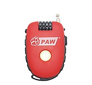 PAW TL981 Password Lock Password Unlocking 4 Digit Password Bicycle Lock Dail Lock Password Lock