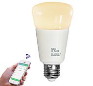 E26/E27 LED Globe Bulbs leds Dimmable Remote-Controlled Warm White Cold White 720lm 2700-6500K AC110-240V
