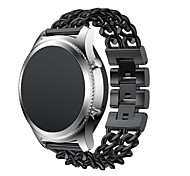 cheap -Watch Band for Gear S3 Classic Gear S3 Classic LTE Samsung Galaxy Classic Buckle Stainless Steel Wrist Strap