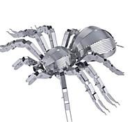 Недорогие -3D пазлы Пазлы Металлические пазлы Игрушки Животный принт 3D Нержавеющая сталь Металлический сплав Из нержавеющей стали Металл