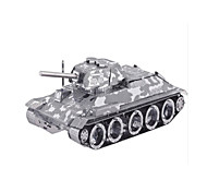 DIY KIT Jigsaw Puzzle Metal Puzzles Toys Tank Aircraft 3D DIY Furnishing Articles Not Specified Pieces