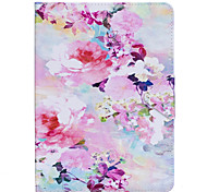 Case For Ipad  Air 2 Pro 9.7'' Case Cover Flower Pattern PU Material Triple Tablet PC Case Phone Case Ipad 2 3 4 Air