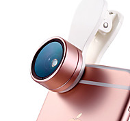 Cherllo 515R Phone Lens Wide-Angle Lens Macro Lens Aluminum 15X  28mm Cell Phone Camera Lenses Kit for SAMSUNG Android Smartphone iPhone