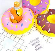 Недорогие -надувной держатель чашки пончика плавающие подставки