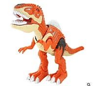 Недорогие -Фигурки животных Игрушки с подсветкой Обучающая игрушка Игрушки Тиранозавр Динозавр Прогулки моделирование Большой размер Электрический