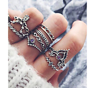 cheap -Women's Rhinestone Costume Jewelry Fashion Hip-Hop Alloy Hamsa Hand Jewelry For Gift Daily