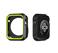 cheap -For Apple Watch Case 3 38 42mm Scratch-resistant Flexible Case Slim Lightweight Protective Bumper Cover for Apple Watch Series 1/2