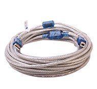 DTech USB 2.0 Connect Cable USB 2.0 to USB Type B Connect Cable Male - Male 10.0m(30Ft)