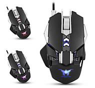 Combaterwing cw30 мышь для мышей игровых мышек 7 кнопок 3200dpi 1000hz скорость возврата веса 4 цветное дыхание светодиодный свет