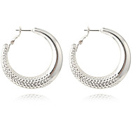 cheap -Women's Hoop Earrings Basic Fashion Bohemian Personalized Cute Style Handmade Luxury Simple Style Classic Elegant Alloy Geometric Jewelry
